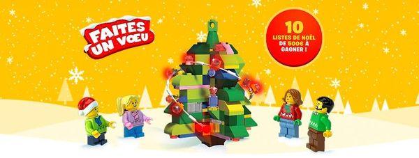 Faites un voeu avec Lego!