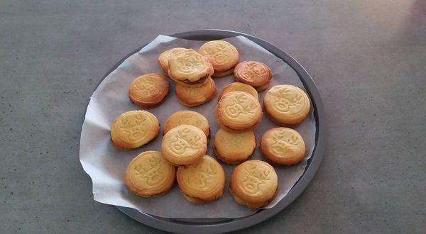 Mes biscuits de Noël coeur Nutella :)