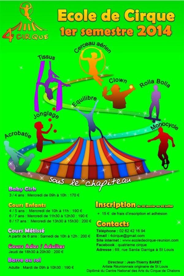 L'Ecole du cirque avec 4ème Cirque