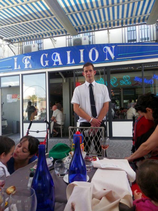 THE restaurant au Grau du Roi - LE GALION
