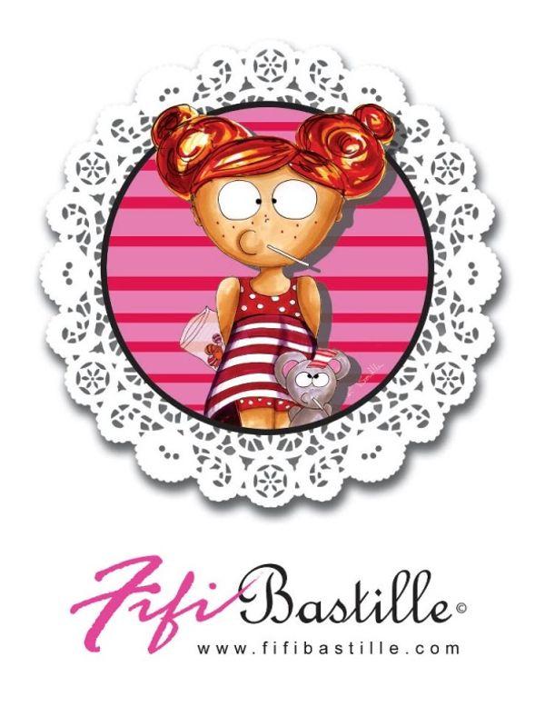 On se pare de jolis colliers avec Fifi Bastille + 3 à offrir :)