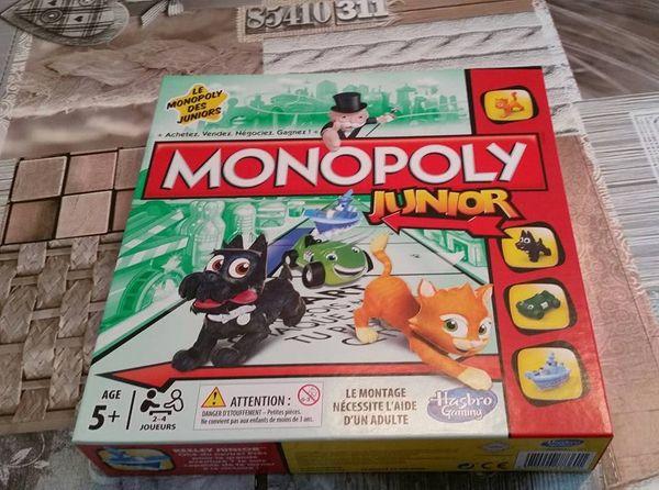 Une partie de Monopoly Junior, ça vous dit?