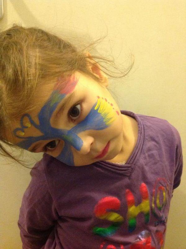 Des maquillages de qualité pour vos enfants...avec GRIM'TOUT :)