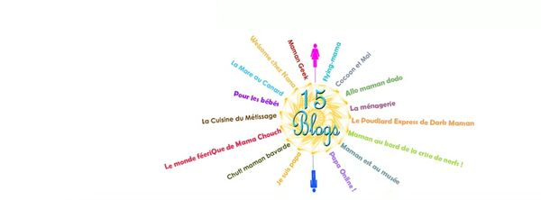 Les <a href>15 Blogs</a> (OK on est 16)