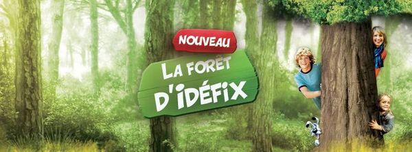 A la découverte de la Forêt d'Idefix au Parc Astérix, le coin des petits!