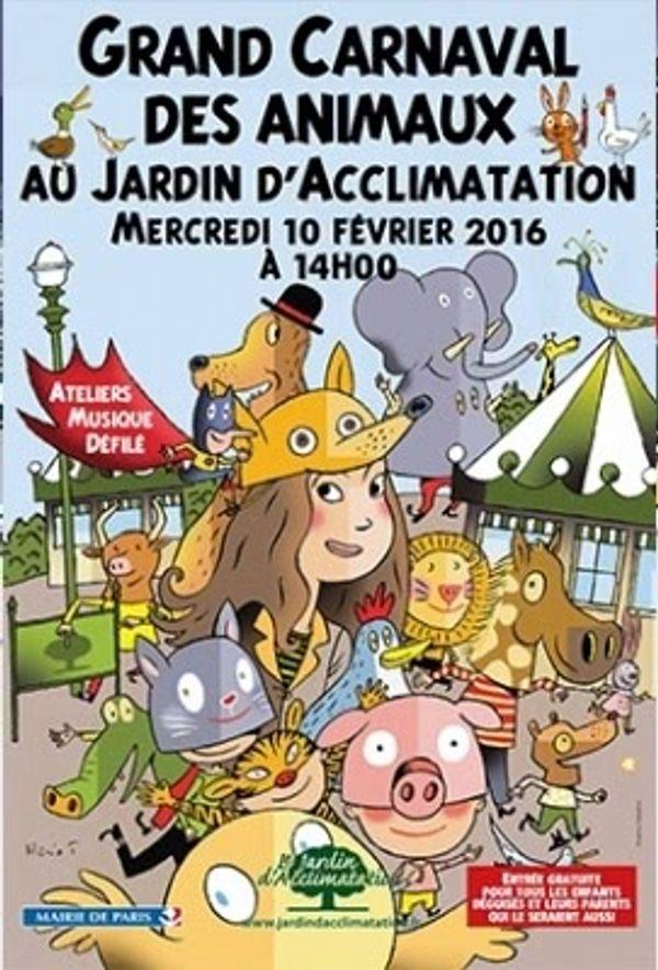 Carnaval des animaux au Jardin d'Acclimatation !!