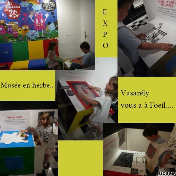 Notre visite au Musée en herbe pour l'expo