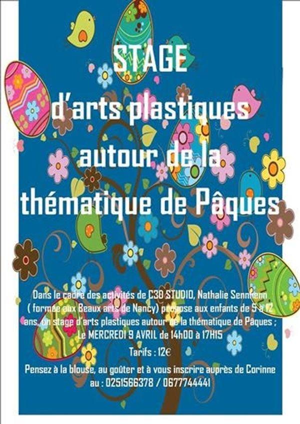 « Stage d'Arts plastiques »