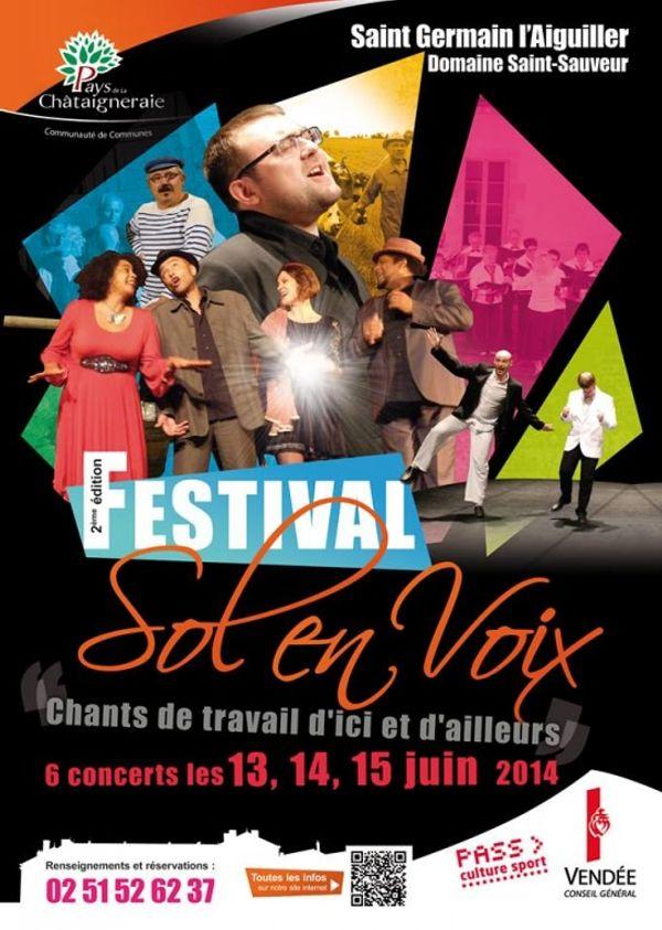Festival Sol en Voix St Germain l'Aiguiller