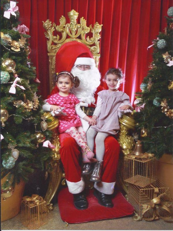 Mini-Piou et Piou ont rencontré le Père Noël (le vrai) !