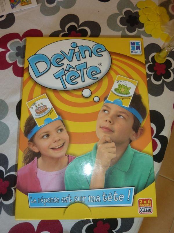 Devine Tête un jeu rigolo et ludique pour les enfants ...