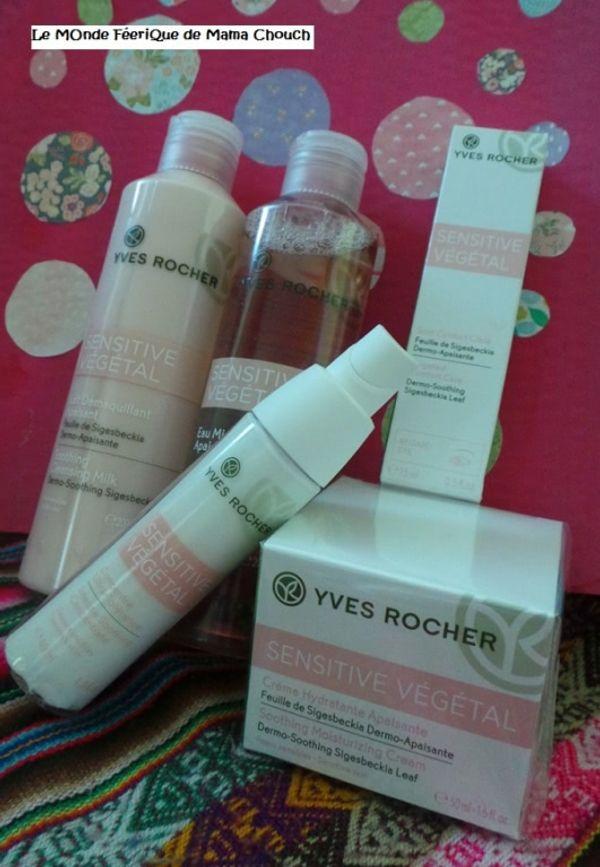 Du Végétal pour ma peau avec Yves Rocher