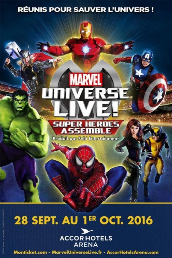 MARVEL UNIVERSE LIVE! Le choc des Super-Héros....c'est pour bientôt!