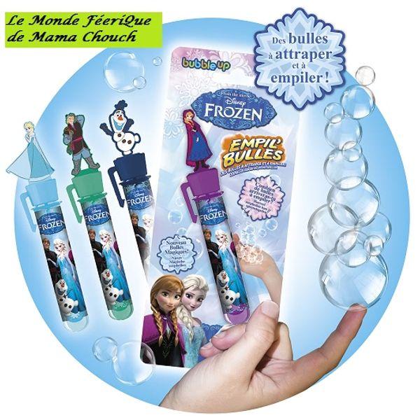 Empile Bulles : des bulles magiques (bubble up)