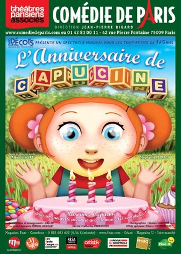 L'anniversaire de Capucine: la pièce des tout-petits.