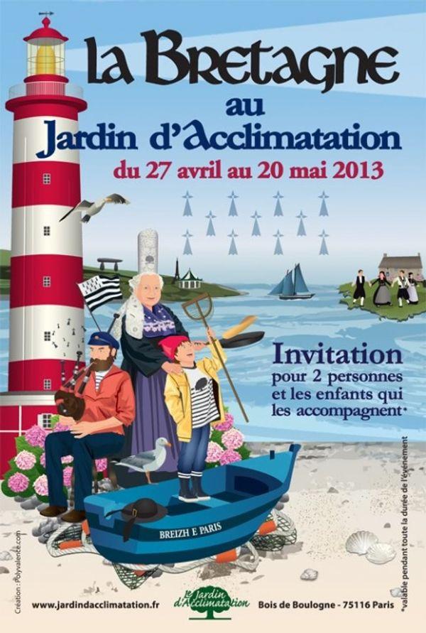 La Bretagne s'invite au jardin d'acclimatation