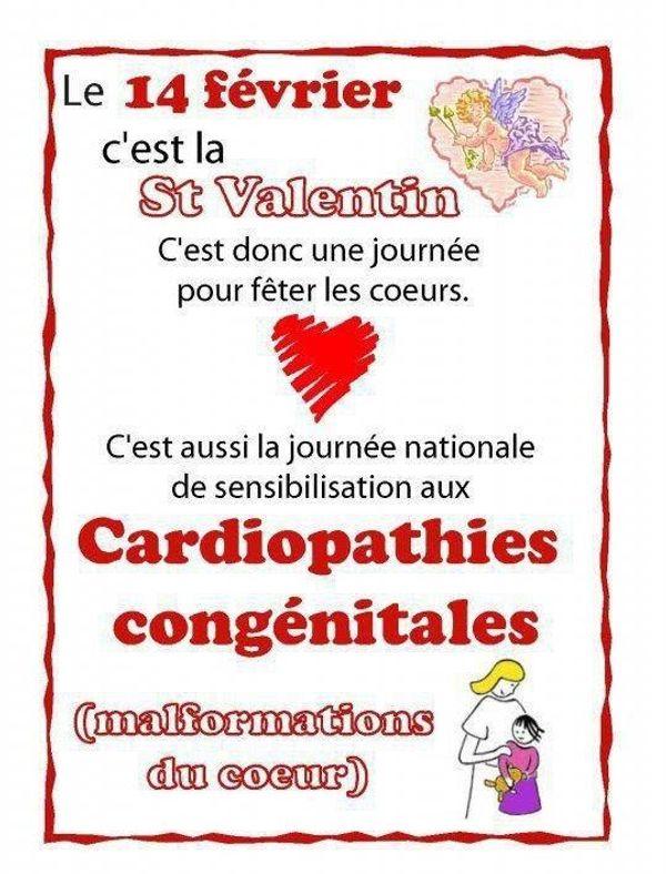 14 février : journée des cardiopathies congénitales