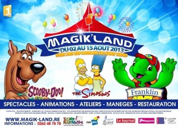 Les places pour Magik'land a gagner dès demain !!!