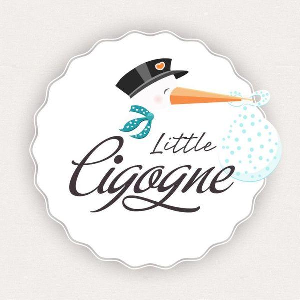Little cigogne : la cigogne habille vos bambins