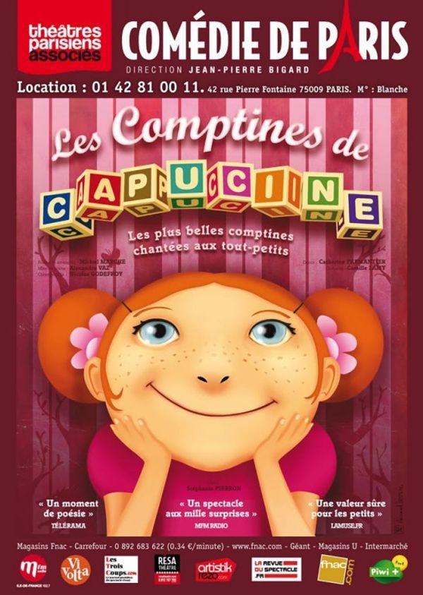 SORTIE: Les Comptines de Capucine à la Comédie de Paris.
