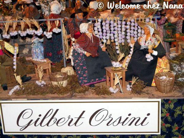 La crèche de Gilbert Orsini au village d'Allauch, en Provence