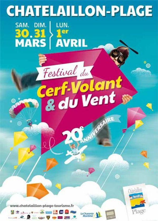 Festival du cerf-volants et du vent 30,31 mars et 1 avril 2013