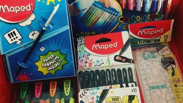 La rentrée avec la #SchoolBoxMaped + bons plans