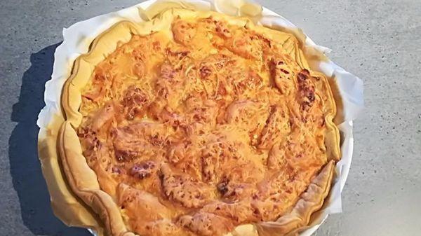 Recette tarte tomates/comté de Maman tout simplement