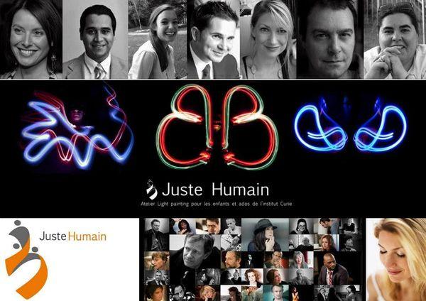 Etre JUSTE HUMAIN...Interview avec NATHALIE NICOLOFF, fondatrice de l'association
