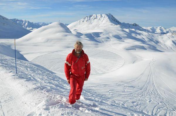 Simon Beck - un génie du SNOW ART