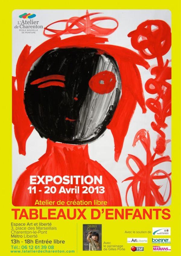 Exposition Peinture L'atelier de Charenton