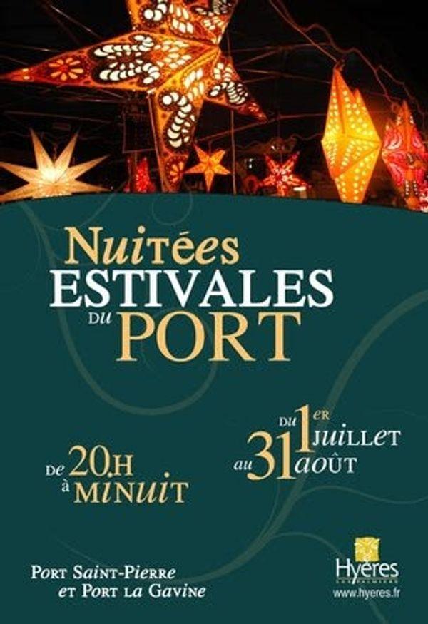 Nuitées estivales du port - Hyères