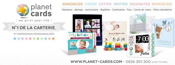 Offrir un cadeau personnalisé avec Planet Cards.