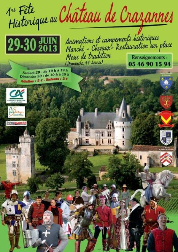 Château de Crazannes - Château du Chat Botté