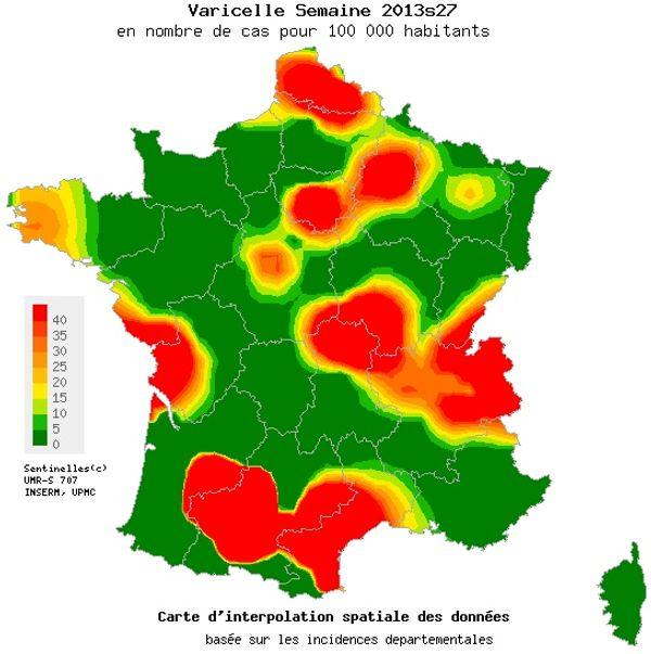 La Varicelle est arrivée en Vendée