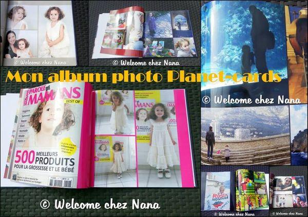 Les années passent , les photos restent … album photo Planet – cards