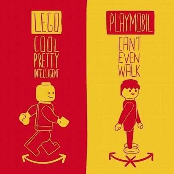 Jouets - Lego vs Playmo