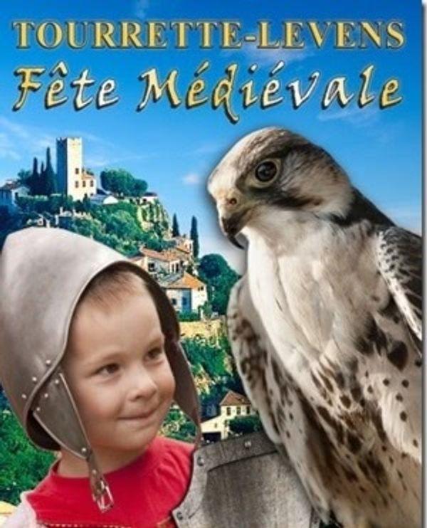 Fête Médiévale à Tourrette Levens le 13 Avril 2014