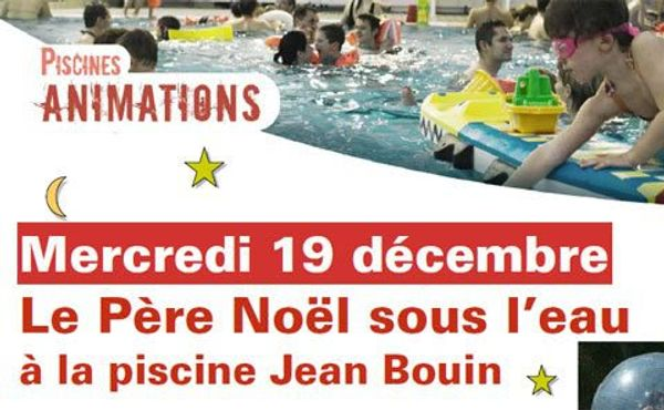 Rencontre avec le Père Noël sous l'eau a Angers
