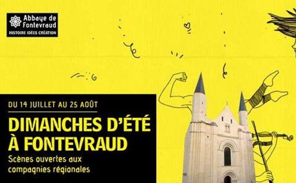 Les dimanches à 17h, spectacle à Fontevraud !