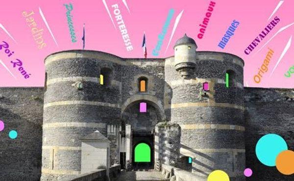 Les vacances des 4-12 ans au Château d'Angers