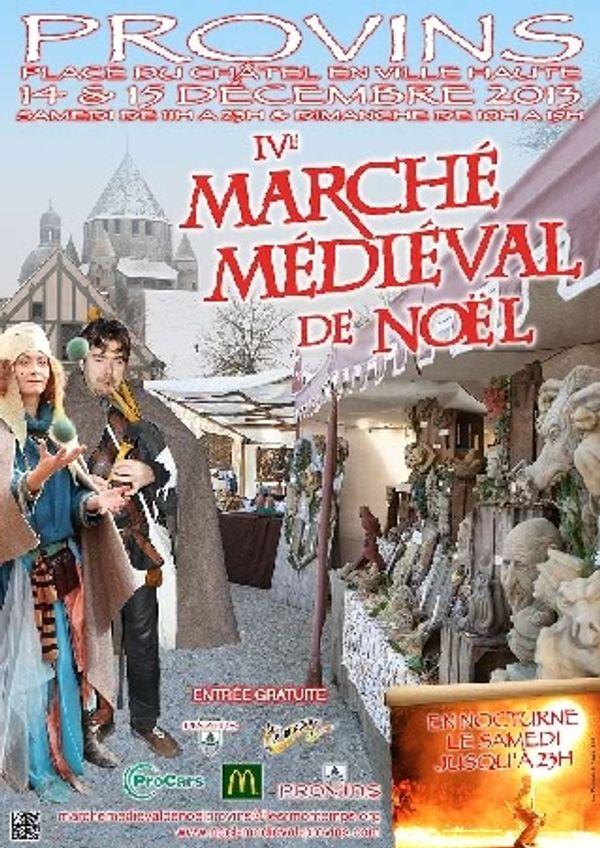Marché de Noel à Provins