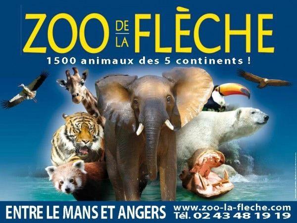 Ma visite au zoo de la Flèche