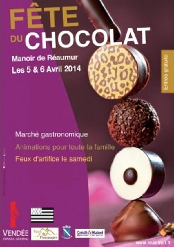 Fête du chocolat Manoir de Réaumur