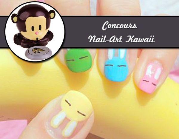 Concours Nail-Art Kawaii (Cadeaux à gagner / GiveAway Inside)