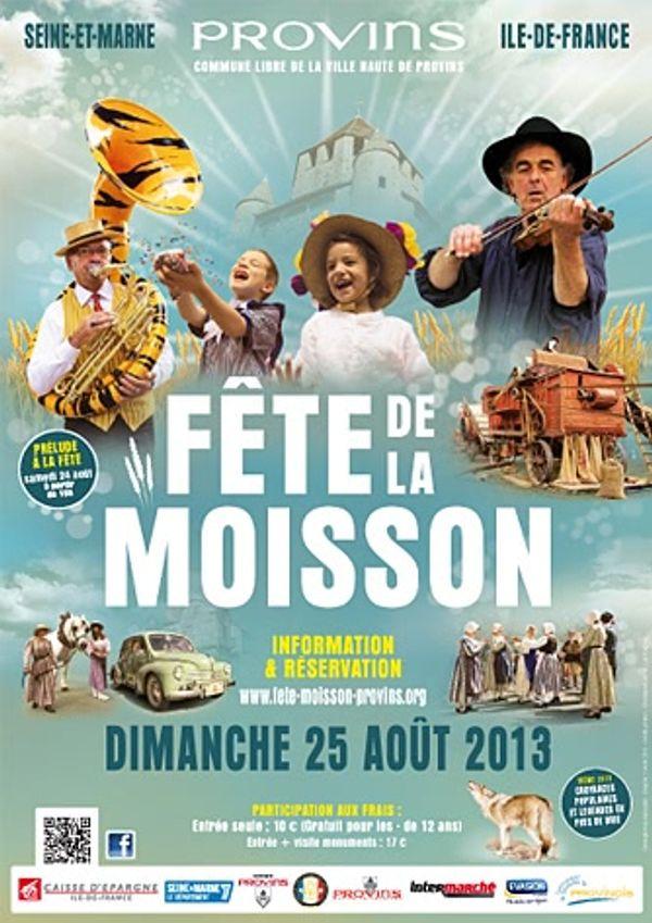 Fête de la Moisson de Provins 24/25 aout