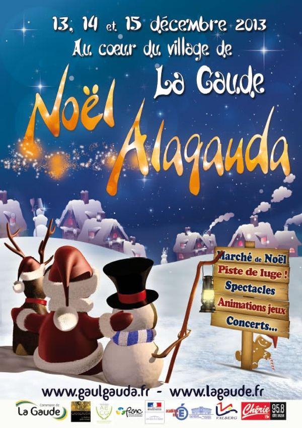 Noël ALAGAUDA/ La Gaude le 13,14 et 15 Décembre