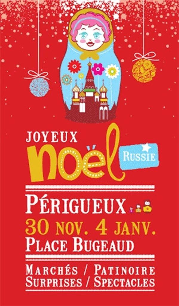 Marché de noël à Périgueux, les festivités débutent !