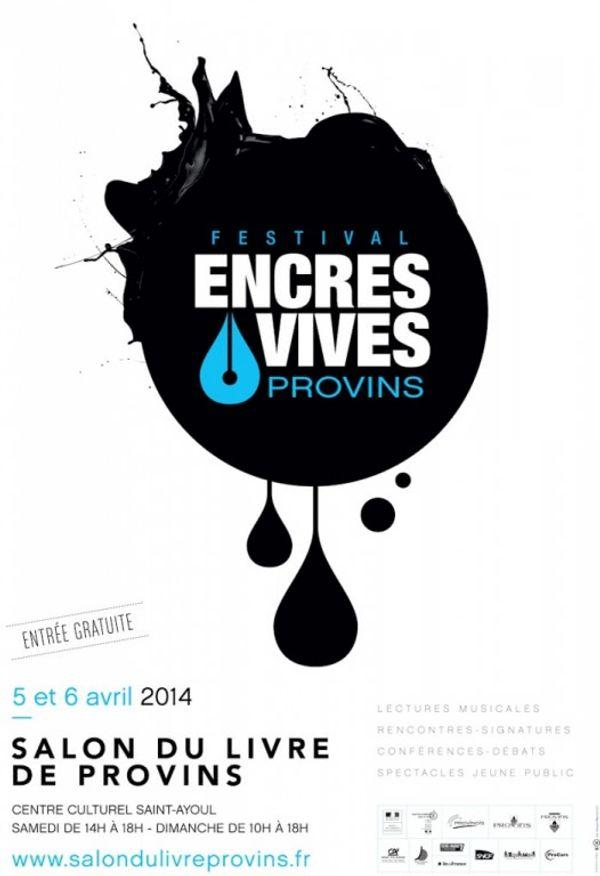 Salon du livre de Provins 5 et 6 avril 2014