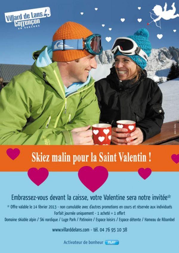 {Bon Plan} Valentine ski gratuit - Villard de Lans